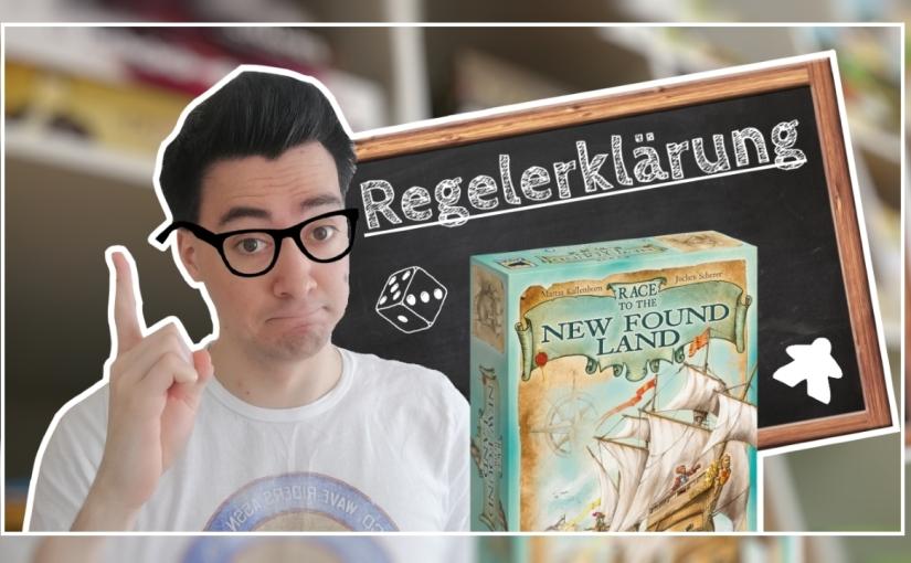 Regeln (+ Aufbau)   Race to the New Found Land [Hans imGlück]