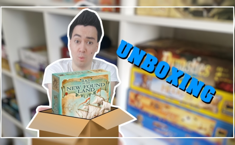 Unboxing   Race to the New Found Land [Hans imGlück]