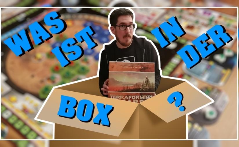 Was ist in der Box? – Terraforming Mars [Unboxing, Regeln,Review]