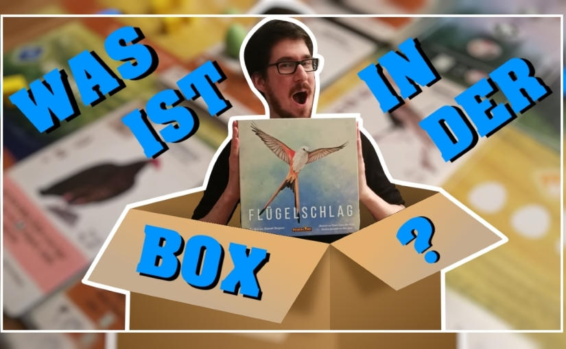 Was ist in der Box? – Flügelschlag [Unboxing, Regeln,Review]