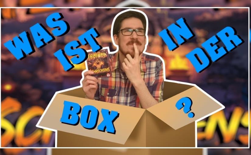 Was ist in der Box? – Tempel des Schreckens [Unboxing, Regeln,Review]