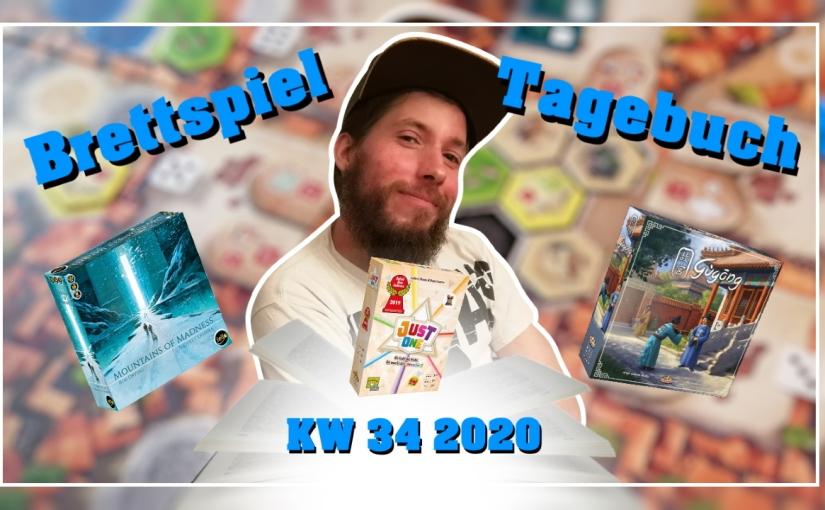 Brettspiel Tagebuch | Alex [KW 34 –2020]