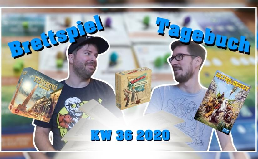 Brettspiel Tagebuch | Patzner & Olli [KW 36 –2020]
