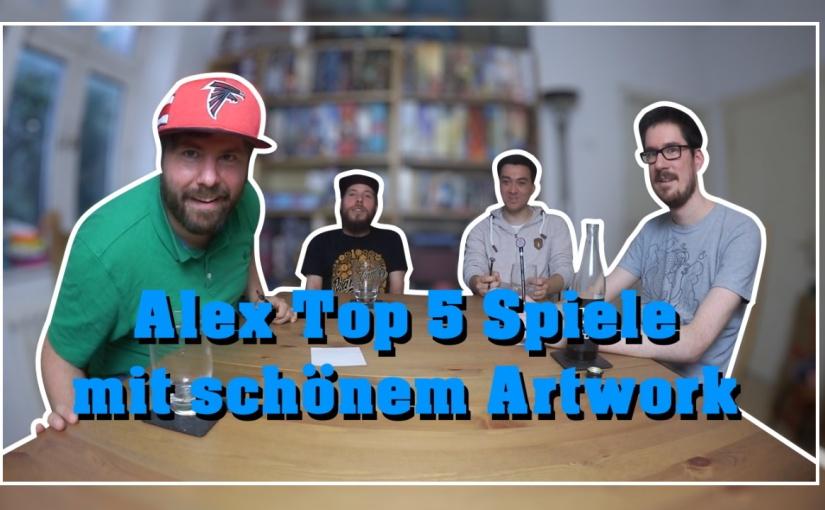 Topliste | Alex Top 5 Spiele mit schönemArtwork